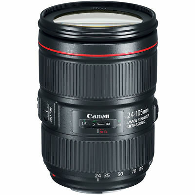 Canon EF 24-105mm f/4L IS II USM Lenses (White Box) + Cleaning Kit