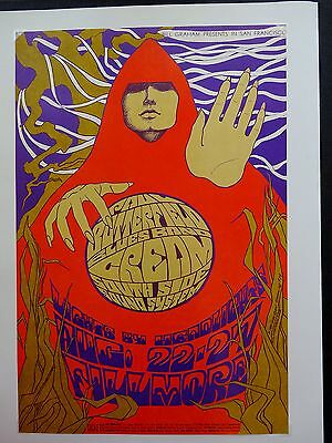 Fillmore Poster BG 79 The Cream Paul Butterfield Blues Band
