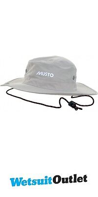 2016 MUSTO FAST DRY BRIMMED HAT IN Light Stone AL1410 - New Style
