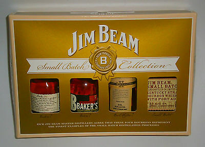 Jim Beam Small Batch Collection Miniature Bottles Unopened Discontinued