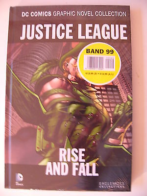 DC Comics Graphic Novel Collection 99 JUSTICE LEAGUE - RISE AND FALL
