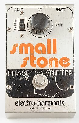 1976 ELECTRO-HARMONIX Vintage SMALL STONE Phase Shifter PHASER Effects PEDAL USA