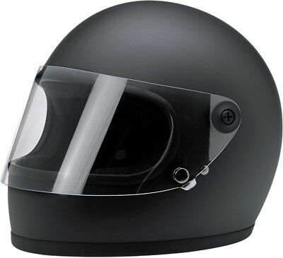Biltwell Gringo S Full Face Solid Color Motorcycle Riding Helmets (All Colors)