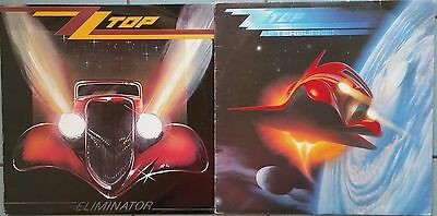 ♫ 2 CLASSIC ZZ TOP albums - ELIMINATOR and AFTERBURNER ♫