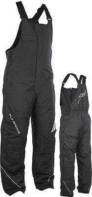 Fly Racing Outpost Snowmobile Snocross Ski Snowboard Riding Bibs Snow Pants