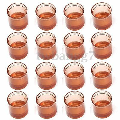 50-200x Beekeeping Queen Cell Cup Rearing Bee Brown Plastic Container Beekeepers