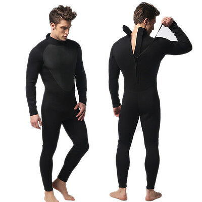 MEN WetSuit 3MM  Full Body suit Super stretch Diving Suit Swim Surf Snorkeling