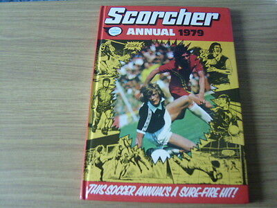 scorcher, football annual, 1979.