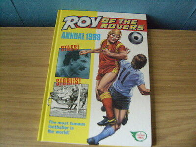 roy of the rovers 1989 annual.