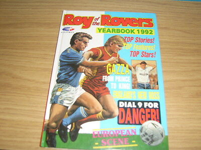 roy of the rovers 1992 annual.
