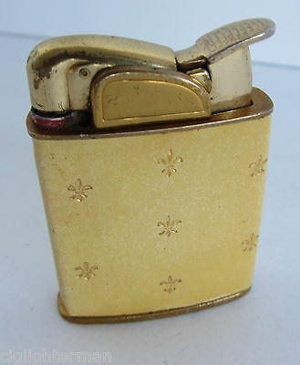 Vintage Evans Lighter Nice Leather Wrap Has A Great Spark Just Needs Fluid