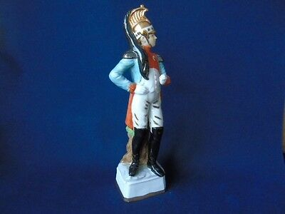 Vintage Handmade Porcelain Soldier - French Cavalry Officer