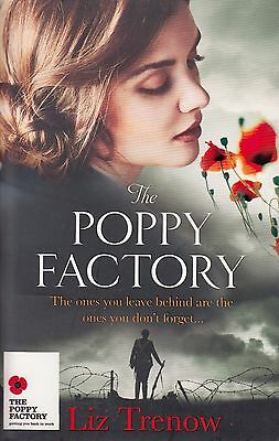 The Poppy Factory BRAND NEW BOOK by Liz Trenow (Paperback 2014)