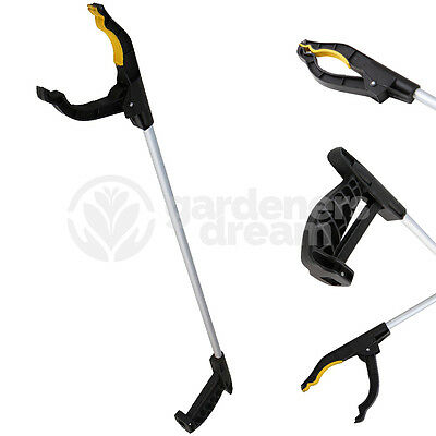GardenersDream 76cm Litter Picker Rubbish Debris Pick Up Reaching Mobility Tool