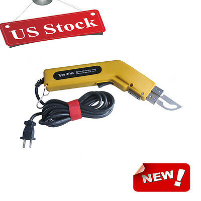 USA 110V 100W Heavy Duty Electric Hot Heating Knife Cutter for Fabric Leather