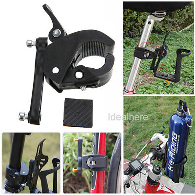 Bike Bicycle Cycling Handlebar Mount Water Bottle Cage Holder Rack Clamp