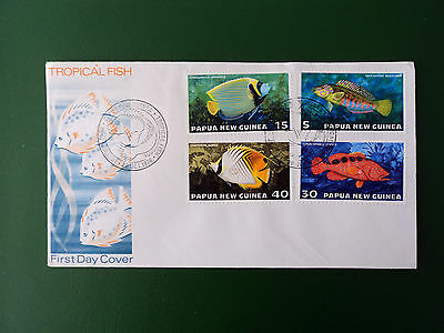 First Day Cover - issue1976 - Tropical Fish