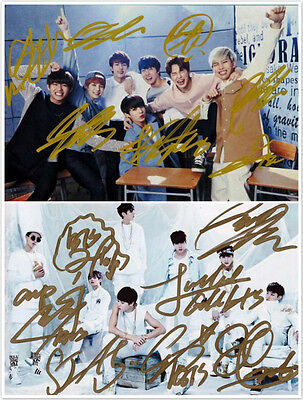 Signed BTS Bangtan Boys in-album PROMO Photo Hand Autograph Authentic onsale!