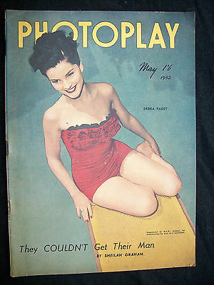 photoplay Debra Paget 1952
