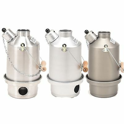 Ghillie Camping Kettle 3 Sizes + Accessories Natural Fuel - Camping & hiking