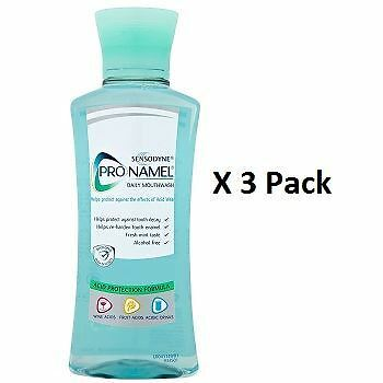 Sensodyne Pronamel Daily Mouthwash 250ml x 3 Pack