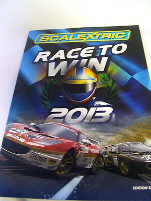 SCALEXTRIC  CATALOGUE 54th   EDITION 2013 excellent condition