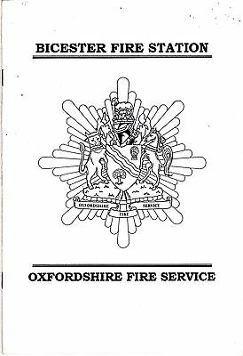 Bicester Fire Station - Oxfordshire - Open Day Programme 2000