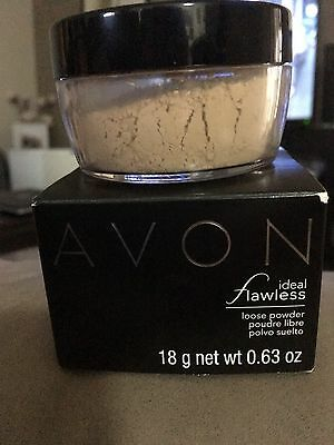 Avon Ideal Flawless Loose Powder Neutral Brand New In Sealed Packaging