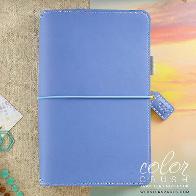 NEW Websters Pages Periwinkle Travellers Notebook