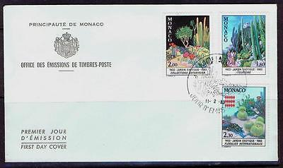Monaco 1983 FDI Exotic Gardens - used unaddressed envelope