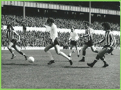 Press Photo 7/4 1973 Tottenham Hotspur v Southampton Martin Peters