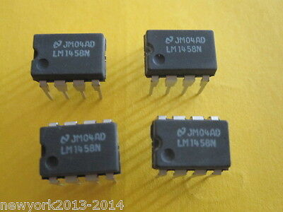 LM1458N(Dual Operational Amplifier)(3 ITEMS)
