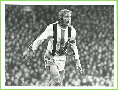 Press Photo 10/5 1973 UEFA Cup Final Liverpool v Monchengladbach Gunter Netzer