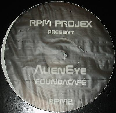 "Alieneye - Found A Cafe - 12"" Ratpack Rpm Projex Rare Near Mint"