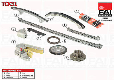 Nissan Primera X-Trail 2.0 2.5 Timing Chain Kit Tck31 Qr20De Qr25De