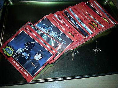 Star Wars -TOPPS 2nd Series ( Red Set )  Gum Cards 1977 -  FULL SET EX+
