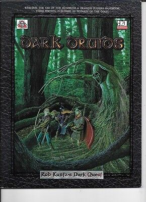 D & D  Dark Druids.   Paperback in vg condition