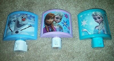 Disney Frozen Night light lot