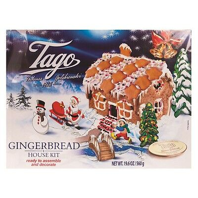 1 Gingerbread House Kit Ready To Assemble Make Your Own Set DIY Build Craft