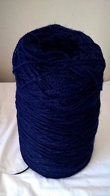 LOT 35 4ply 294g 100% acrylic Navy Hand or Machine Knitting Yarn on Cone
