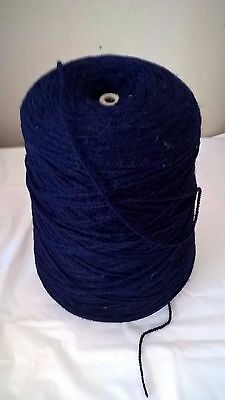 LOT 40 4ply 349g Navy 100% acrylic Hand or Machine Knitting Yarn on Cone