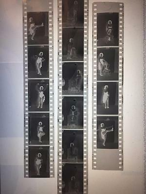 LOT OF ORIGINAL 1970s GLAMOUR / PIN UP / NUDE MODELS 35mm NEGATIVES #2