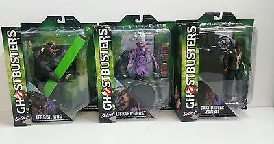 Ghostbusters Movie Set Of 4 Action Figure With Ghost Figure  New