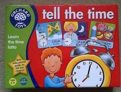 tell the time orchard games