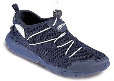 MARES  MEN'S Fast Drain WATER AQUA Running Jogging TRAINERS Beach SHOES - NAVY