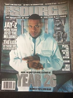 The Souce Magazine JAY-Z January 2000 No.124