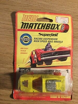 Matchbox Superfast With Blister Pack Mod Rod 1