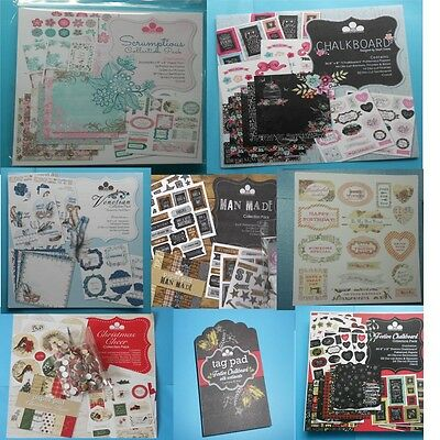 """Craftwork Cards   *collection Packs*    Full Kits 8"""" X 8""""  You Choose >>>>"""