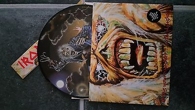 "IRON MAIDEN Bring Your Daughter To The Slaughter 7"" Picture VINYL UK Emi 1990"