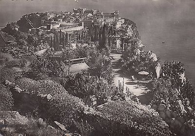 M 408 Monaco   August 1949 real photo postcard to UK; 15f rate; 2 stamps